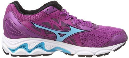 Shoes Red Cloverblueatollsafetyyellow Inspire Wave Running Wos Women's Mizuno 14 TYzq60