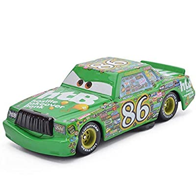 Cars 2 Toys Speed Racers McQueen Tow Mater Tow Truck Series Diecast Toy Car 1:55 Loose Kids Toys Vehicle Speed Racer car Speed Racer The Next Generation hot Wheels (No. 86 Chick Hicks): Toys & Games