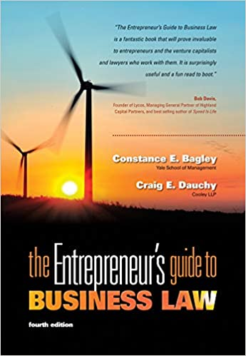 The Entrepreneurs Guide To Business Law Pdf