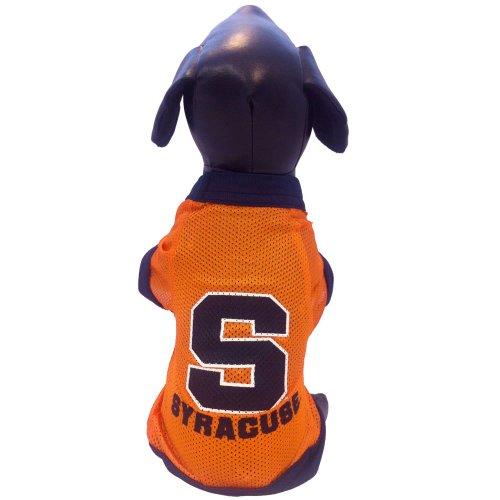 NCAA Syracuse Orange Athletic Mesh Dog Jersey, Team Color, Small