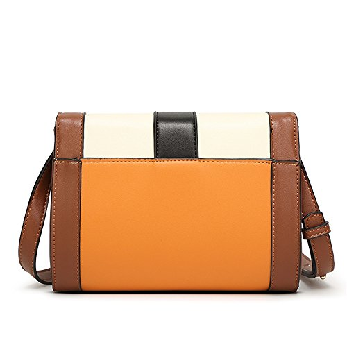 Women Xuanbao Storage A Pu Bag Material Bags Colour Charm Matching Lightweight Handbag Protective Crossbody Messenger qqO4wntaA
