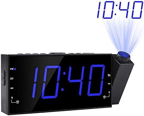 FENGCLOCK Reloj Despertador Proyector Proyector/Proyector Techo ...