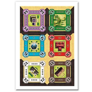 Queen Games - Juego de cartas, de 2 a 6 jugadores (60875 ...