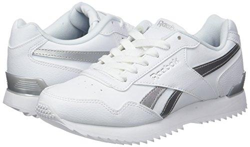 white Royal white Blanc Reebok Femme 000 Rplclp Sneaker Met Glide Basses silver n8wwxqOFUg