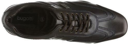Bugatti Totti Nappa T54091 - Zapatos clásicos de cuero para hombre Marrón