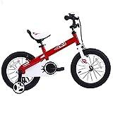 RoyalBaby CubeTube Honey 16'  Bicycle for Kids, Red