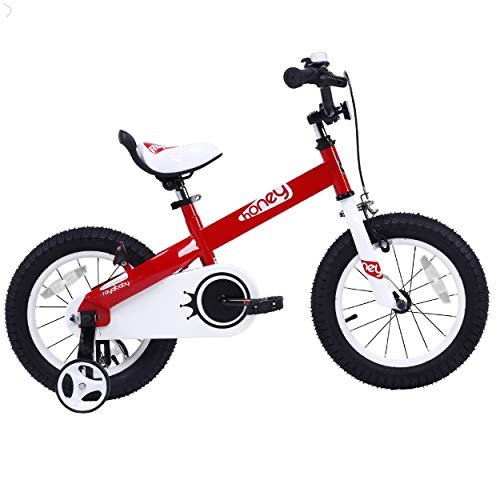 "Royalbaby Kids Honey Bike, 16"", Red"