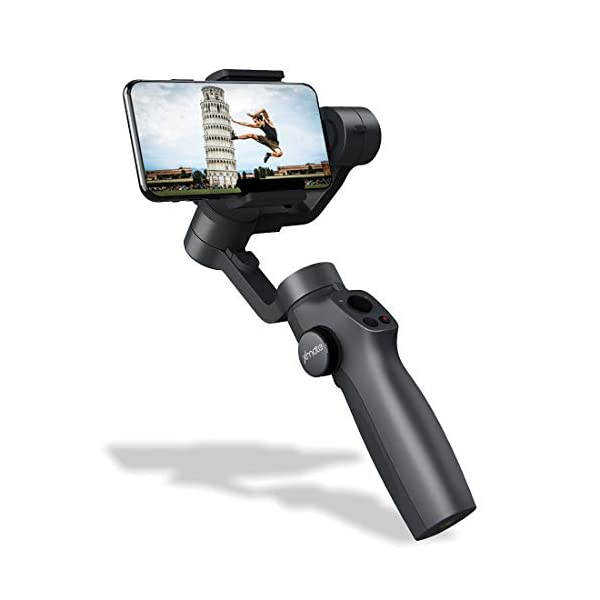 Xmate Tour 3 Axis Handheld Smartphone Gimbal (Black) |Object Tracking | Zoom Capability |Video Edit & Share Support | 12 Hours Battery Life 1