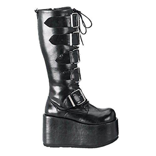 Demonia Ripsaw-518 - gothique Industrial plateau bottes chaussures unisex 36-45