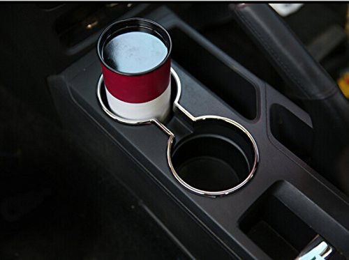 2011-2015 For Jeep Patriot Interior Accessories Trim Water Cup Trim Cover Holder Frame