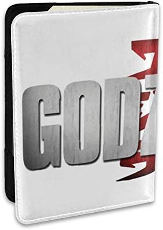 Godzilla Logo Post ゴジラ モンスター ロゴ パスポートケース メンズ 男女兼用 パスポートカバー パスポート用カバー パスポートバッグ ポーチ 6.5インチ高級PUレザー 三つのカードケース 家族 国内海外旅行用品 多機能
