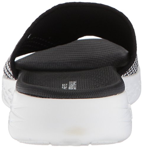 White para On de Sandalias Plataforma Mujer Nitto Black 600 The Go Skechers O6ZPfq6