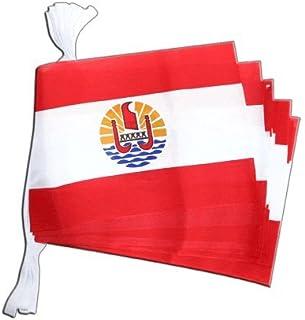 Digni Guirlande drapeau France Polynésie francaise - 5,9 m Digni®
