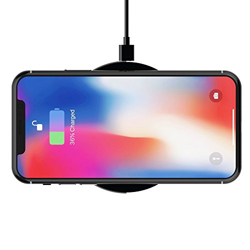cordless Charger 10W Jokitech Qi cordless Charging Pad for Samsung Galaxy S7 S6 Active Edge Edge Plus Note 5 and different Qi permitted instruments JetBlack Mounts Stands