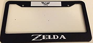 Take This It/'s Dangerous To Go Alone Black Plastic License Plate Frame LoZ
