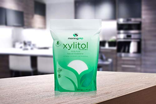 Morning Pep Pure Birch Xylitol (Keto Diet Friendly) Sweetener 5 LBs (Not From Corn) NON GMO - KOSHER - GLUTEN FREE - PRODUCT OF USA. 80 Onces by Morning Pep (Image #5)