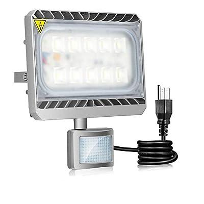 STASUN 10W 30W 50W 60W 90W Motion Sensor Light Daylight