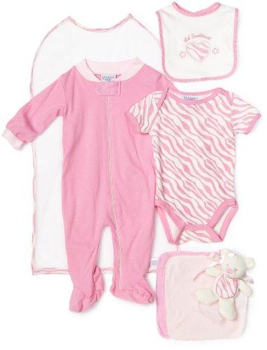kyle & deena Baby-Girls Newborn Lil Sweetie Hanging Layette