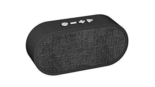 ibowin Wireless Portable Bluetooth Speaker for android mobile phones and other brand phones, Handsfree Calls, Bluetooth/TF card/Aux/U-disk/LIN In HD Stereo Sound Sound Speaker – Black