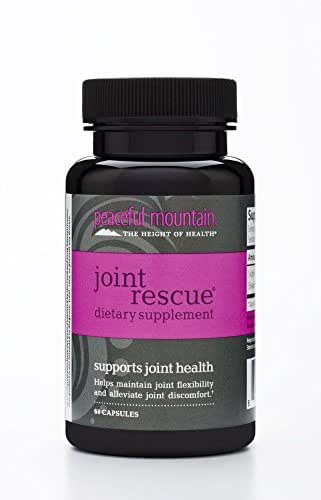 Peaceful Mountain - Joint Rescue Dietary Supplement 60 cap