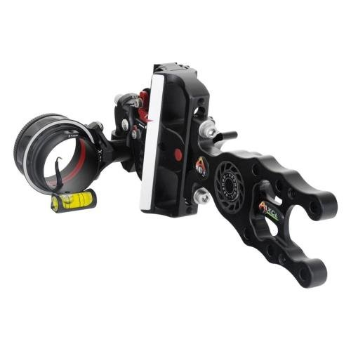 Axcel Archery Sights Accutouch X31 Housing HD .010 Sight, Right Hand/Left Hand, Black
