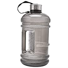 Kocome 2.2L Big BPA Free Sport Gym Training Drink Water Bottle Cap Kettle Workout