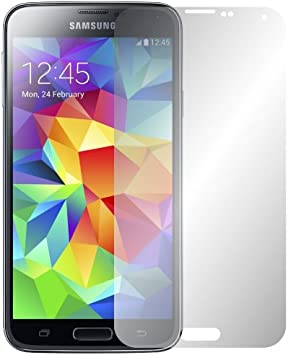 Slabo 2 x Protector de Pantalla Samsung Galaxy S5 / S5 Neo lámina Protectora de Pantalla lámina Protectora Ultra Transparente Invisible Made IN Germany: Amazon.es: Electrónica