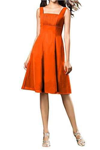 Bridesmaid with Bride Dress Orange Short Dresses Sweet Straps Pagenat line Angel A wazqEw