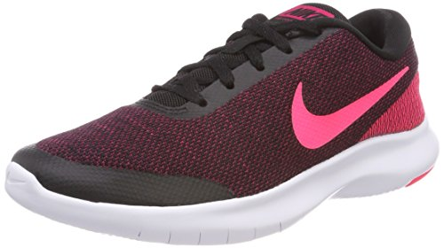 perience 7 Running Shoe, Black/Racer Pink-Wild Cherry-White, 7.5 Regular US ()