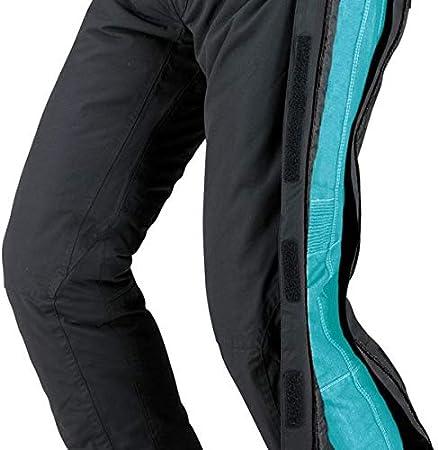 JET Pantaloni moto impermiabile con larmatura Zippwe M Nero, 48 Corto//Vita 32 Lunghezza 30