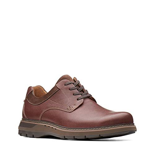 CLARKS Men's Un Ramble Lo Mahogany Leather 15 D ()