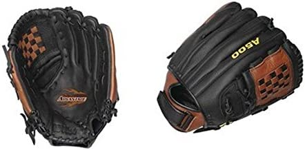 """Wilson 12 1/2"""" A500 Advantage Closed 2-Piece Cat Web All Positions Fast Pitch Softball Glove from (Worn on The Right Hand)"""