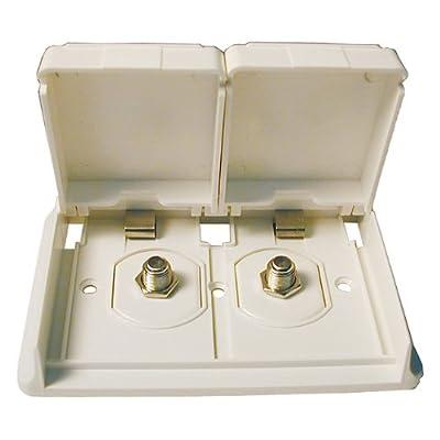 Prime Products 08-6301 White Receptacle TV Duplex: Automotive