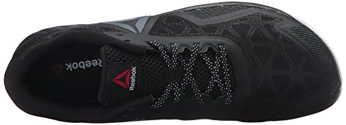 Reebok Mens Ros Workout Tr 2.0 Cross-trainer Scarpa Invisibile / Nero / Carbone / Bianco / Rosso Antisommossa