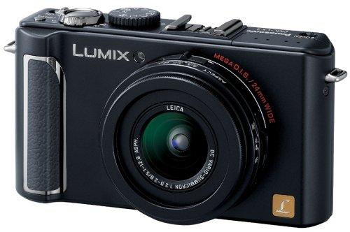 パナソニック デジタルカメラ LUMIX (ルミックス) LX3 ブラック DMC-LX3-K  ブラック B001D23KSS
