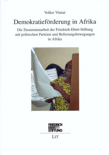 Demokratieforderung In Afrika Die Zusammenarbeit Der Friedrich