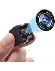 COOLGIRL Videocamera Spia Nascosta Mini Spy Cam 1080 HD Dotata Di Rilevatore Di Movimento E Supporto Infrarossi Per Visione Notturna per la Casa, l'ufficio e la Sicurezza di Guida