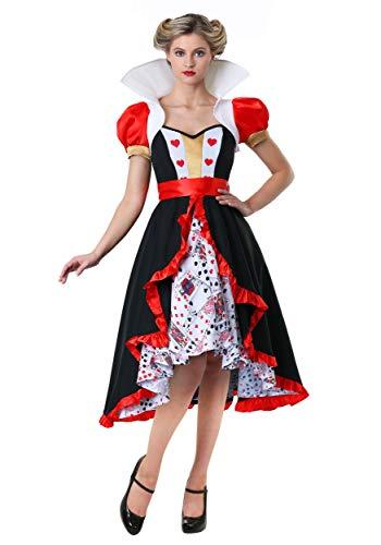 Women's Flirty Queen of Hearts Costume Queen of Hearts Dress Small