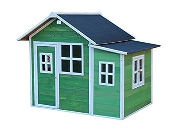 EXIT Loft 150 - casas de juguete (Floorstanding playhouse, Niño/niña, Verde, Color blanco, Madera, EN-71): Amazon.es: Juguetes y juegos