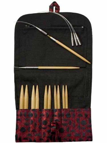 HiyaHiya Interchangeable Needles Sets, Bamboo Large sizes, 5 5