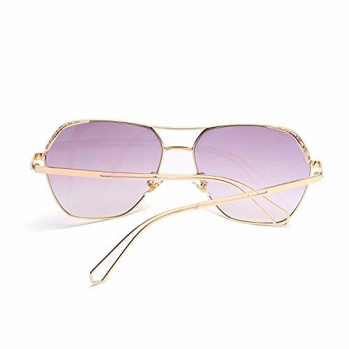 Mujer Hombre Sol Intellectuality de B Gafas polarizadas Retro Personalidad de A Sol Gafas de Ojos SAqIzaqFX