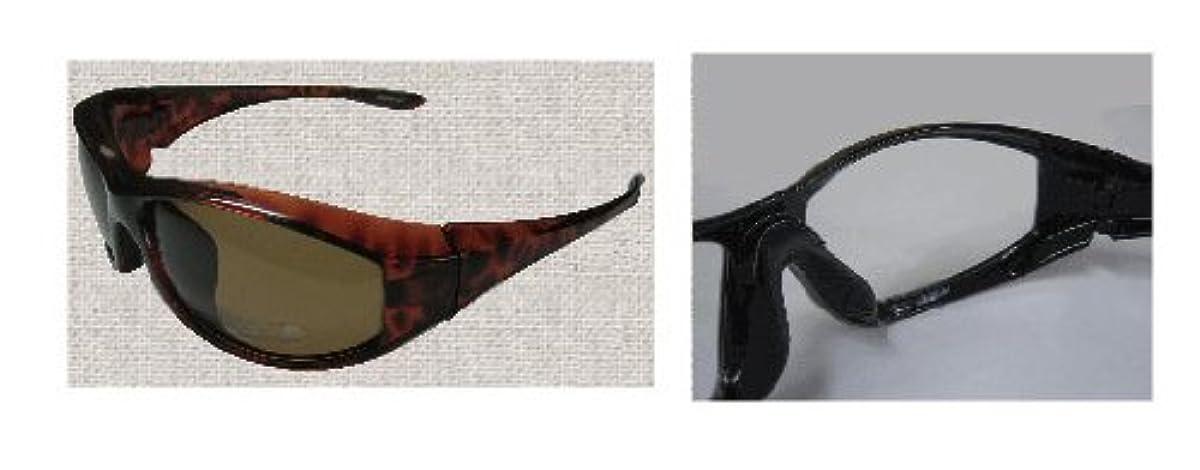 [해외] [스피드 피트] 썬글라스 COZY/코지 브라운 편광 CZ-F2 / 브라운 / CZ-F2