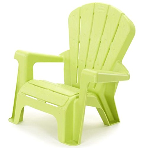 Kids or Toddlers Plastic Chairs,Use For Indoor,Outdoor,Home,Garden,Patio,Beach,Bedroom Versatile and Comfortable Back Support and Armrests Childrens Chairs.5 Colorful Little Tikes Contemporary Colors Make a Perfect Childs Chair. (GREEN) (Tikes Little Desk Chair With)