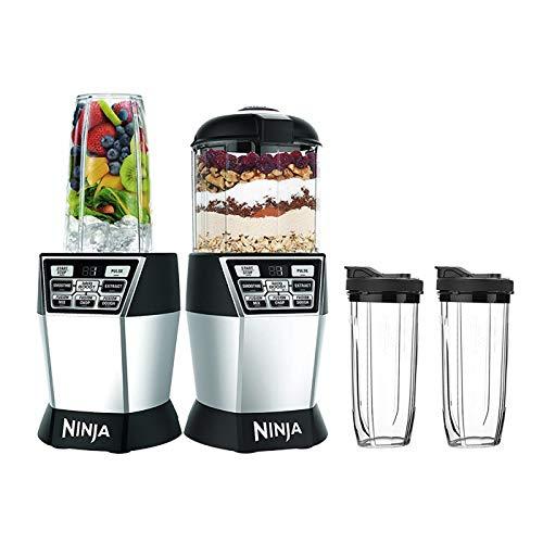 Ninja Ninja Nutri Bowl Duo with Auto-iQ Boost (NN102), Black