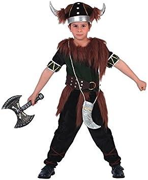 Juguetes Fantasia - Disfraz vikingo 7-10 años: Amazon.es: Juguetes ...
