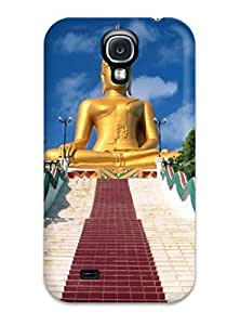 Mary David Proctor Perfect Tpu Case For Galaxy S4/ Anti-scratch Protector Case (buddha Gods )