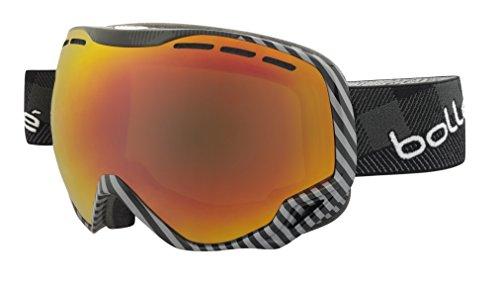 Bolle Emperor Goggles, Black/Grey Plaid, Sunrise Lens
