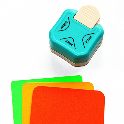 CADY (4mm 7mm 10mm) 3 In 1 Corner Rounder Paper Punch One Paper Cutter