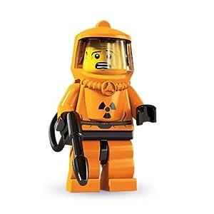 Amazon.com: LEGO Series 4 Collectible Minifigure Hazmat Guy: Toys