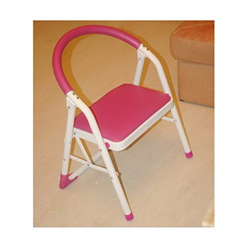 - MCLY Shower Seats, Children's Folding Chair with Backrest, Elderly Bathroom Shower Simple Stool (Color : Pink)